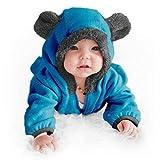 Funzies Fleece leichte Jacke - Winter Pyjama Oberbekleidung für Baby 18-24 monate Blauer Bär