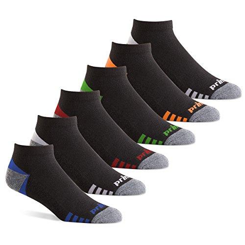 Prince Herren Low Cut Performance Athletic Socken für Laufen, Tennis, und Casual Use -