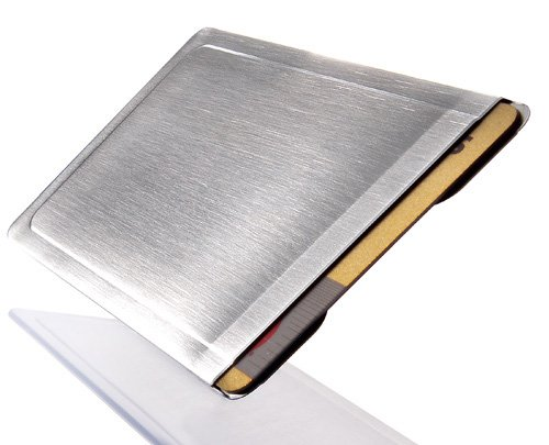 Preisvergleich Produktbild CardTresor Kartenschutzhülle aus Edelstahl RFID/NFC-Schutz