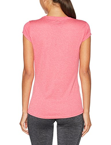 Puma Damen Active Ess Number 1 Tee W T-Shirt Rosa (Love Potion)
