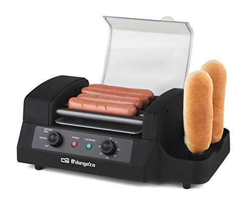 Orbegozo PR 3900 Hotdog-Maschine, Schwarz
