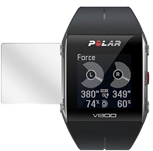 dipos I 6X Schutzfolie klar passend für Polar Trainingscomputer V800 Folie Bildschirmschutzfolie