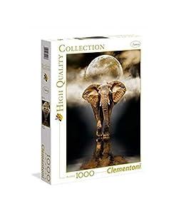 """Clementoni 39416 """"Der Elefant - HQC Puzzle, 1000 Teile - Rompecabezas (1000 Teile)"""