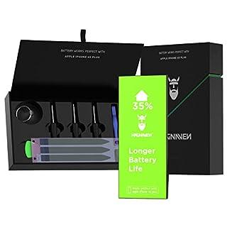 Hagnaven® Li-Polymer Akku für Apple iPhone 6s Plus | HÖHERE KAPAZITÄT | Werkzeug und Klebestreifen | LEISTUNGSSTARKER Ersatzakku mit 2850 mAh | hochwertige QUALITÄTSZELLEN und Beste AKKULAUFZEIT