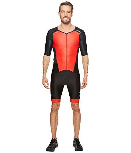 2x u Men 's Perform Full Zip Sleeved 2014 XL Black/Team Red