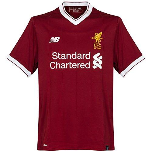 New Balance Liverpool Camiseta, Niños, Rojo, XL