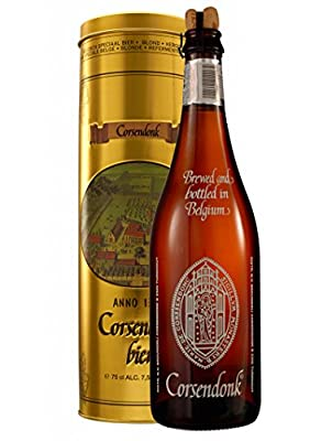 Bier Geschenk Set Corsendonk Agnus 0,75 l. in Metalldose