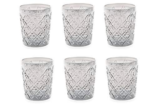 Villa d 'Este Home Tivoli 2316396Juego Marrakech vasos agua, cristal