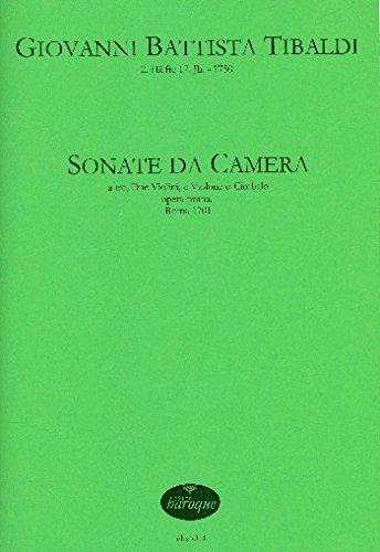 Preisvergleich Produktbild Sonata da camera op.1 : für 2 Violinen und Bc Partitur und Stimmen (Bc nicht ausgesetzt)
