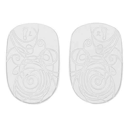 Bama Damen Gel-Fersenkissen, Für hervorragende Polsterung und mehr Komfort an den Fersen, Größe: ONE Size, Transparent (Damen-komfort-schuhe Ferse)