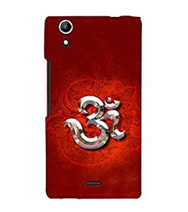 Fuson Designer Phone Back Case Cover Micromax Canvas Selfie 2 Q340 ( The Mystical Om Symbol )