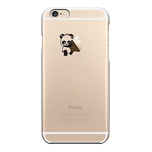iPhone Cover di licaso® per il Apple iPhone 7 Plus di TPU Cane Sogna Cartoni Animati Amici Silicone Modello molto sottile protegge il tuo iPhone 7 Plus con stile Cover e Bumper Panda 3