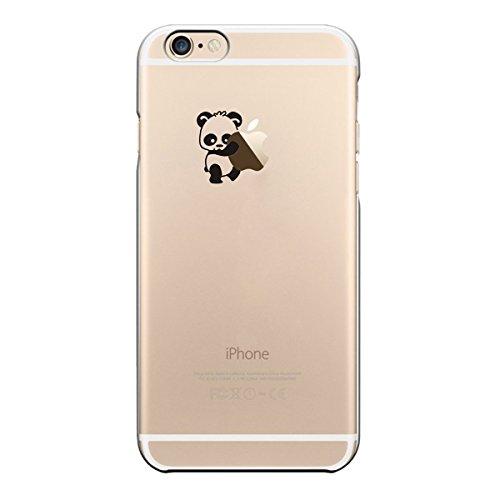 iPhone Cover di licaso® per il Apple iPhone 7 Plus di TPU Cane Sogna Cartoni Animati Amici Silicone Modello molto sottile protegge il tuo iPhone 7 Plus con stile Cover e Bumper Panda 3