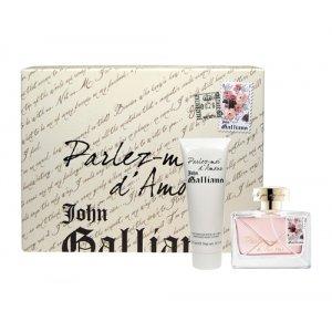 john-galliano-parlez-moi-d-amour-set-edt-50-ml-spray-body-lotion-125-ml