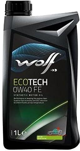 EcoTech Wolf Engine Oil 0W40FE 1Litre
