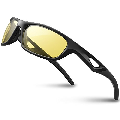 1a3c0167feb RIVBOS Polarized Sports Sunglasses with UV400 Protection Lens and Tr90  Superlight Frame Design for Men Women