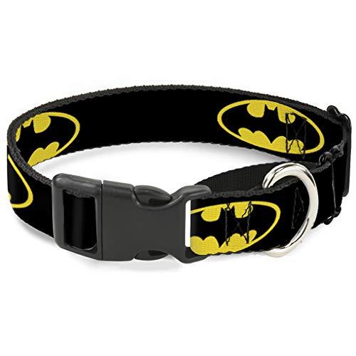 artingale Hundehalsband, 3,8cm, Schwarz/Gelb/Wide-fits, 32Neck-Large ()