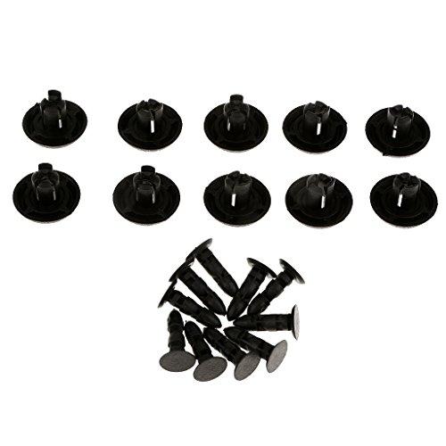 KKmoon Voiture Corps Plastique Push Pin Rivet Attaches Trim Kit de Moulage Clip Assortiments