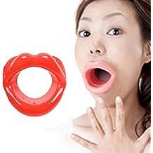 Cuatro Plus One mou-th juguetes oral Se-xy tapones para juegos de adultos (color rojo)