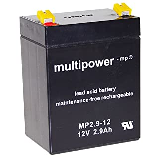 Original Bleiakku für MULTIPOWER MP2.9-12