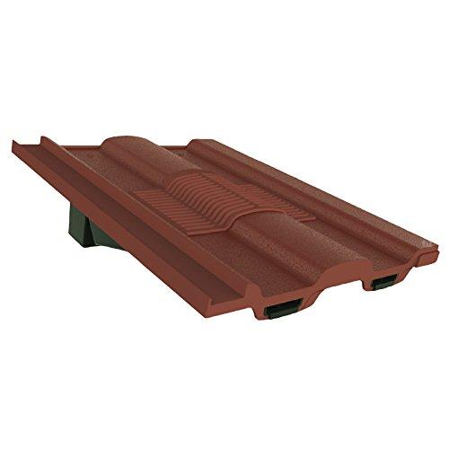 Antik Rot Marley Ludlow Redland Sandtoft Zinnen Dach Fliese Vent & Adapter