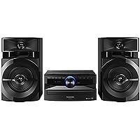Panasonic SCUX100EK Home Audio Mini System 300W Negro Sistema de Audio para el hogar - Microcadena (Home Audio Mini System, Negro, Monótono, 300 W, De 2 vías, 13 cm)