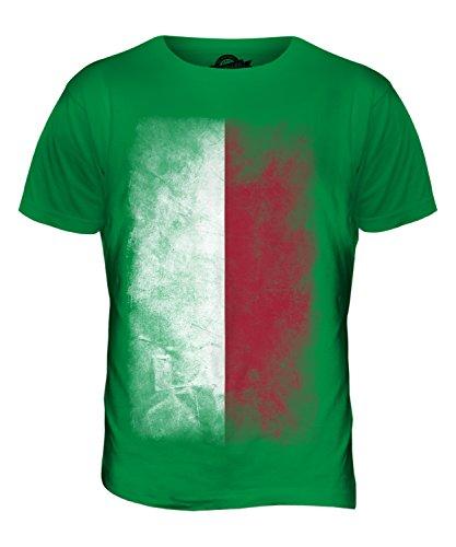 CandyMix Polen Verblichen Flagge Herren T Shirt Grün