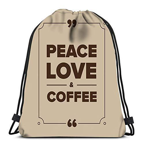 Randell Gym Drawstring Backpack Sport Bag Athletic Sport Happy 7 Lightweight Shoulder Bags Travel College Rucksack for Women Men