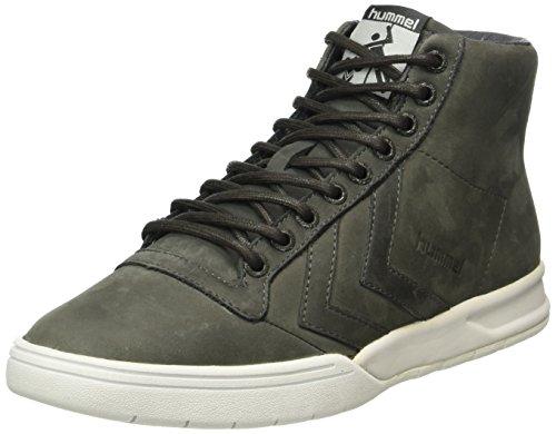 hummel Unisex-Erwachsene Hml Stadil Winter High Sneaker Top, Grau (Beluga), 44 EU
