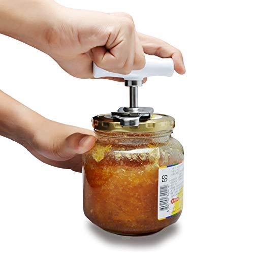 XdremYU Edelstahl Flaschenöffner mit Flaschenverschluss aus Glas Anti-Rutsch Arbeitsspar Schraubendreher
