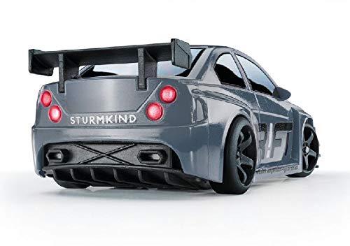 Dr!ft Silver V8 Modellauto mit realistischer Fahrdynamik