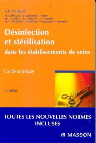 Désinfection et stérilisation dans les...