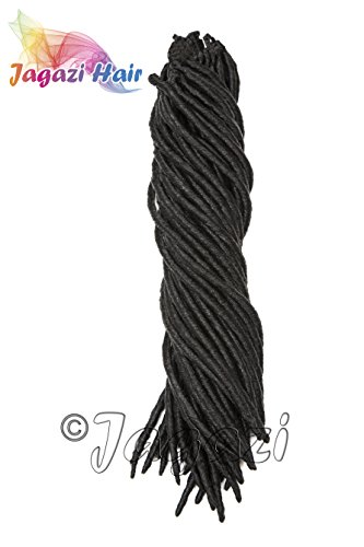 from-uk-18-inches-black-faux-locks-dreadlocks-pre-made-quick-install-with-crochet-latch-hook-synthet