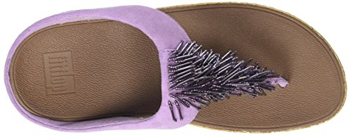 FitFlop Cha Cha, Scarpe spuntate Donna Purple (Dusty Lilac)