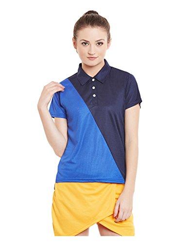 Yepme-Polo-Carlyn-Dryfit-Bleu