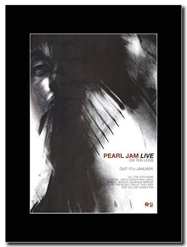 Pearl Jam - Live On Ten Legs Magazine Promo on a Black (Pearl Jam Memorabilia)