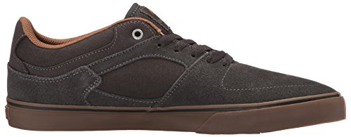 Emerica Herren the Hsu Low Vulc Skateboardschuhe, Schwarz Grey