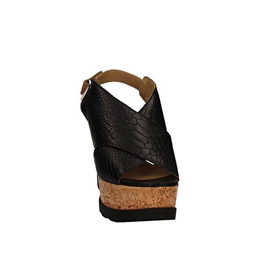 Igi&Co 7871 Sandalo zeppa Donna Nero