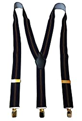 Navaksha Blue Y-Back Suspender for Men