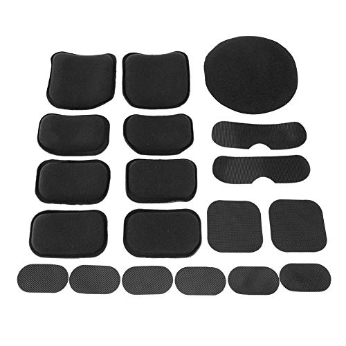 Well-Educated 19pcs Standard Helmet Pads Eva Non-toxic Quick Dry Protective Cushion Replacement For Fast Helmets With Hook And Loop Fastener Pottery & Glass
