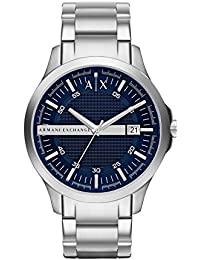Armani Exchange Hampton Analog Blue Dial Men's Watch - AX2132