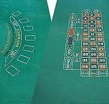 182,9x 91,4cm Craps & Blackjack Layout