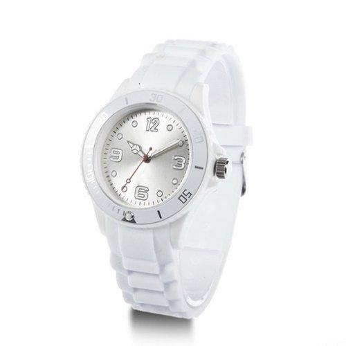 SODIAL(R) Reloj de Pulsera Deportivo Clasico Banda de Silicona Zalando