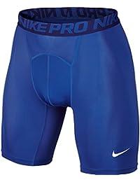 """Nike Pro 6"""" - Pantalón corto para hombre, color Azul (Game Royal/Deep Royal Blue/White), talla XL"""