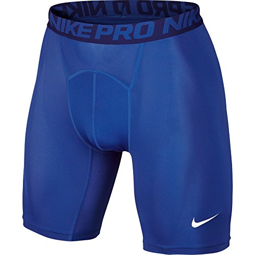 NIKE Herren Kurze Hose Pro Cool Compression 6 Zoll Shorts - Blau (Game Royal/Deep Royal Blue/White) , XXL (Dri-fit-unterwäsche)