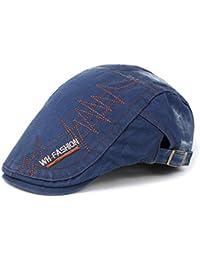 TTKJ Gorra de béisbol Cap Tela de algodón para Hombre Casual Pintor  Sombrero Retro ... 596d4e75967