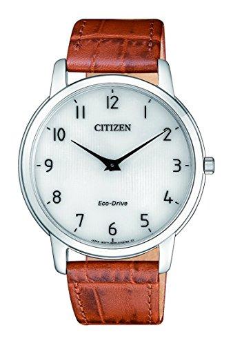 Citizen Herren Analog Quarz Uhr mit Leder Armband AR1130-13A