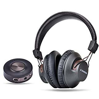 Avantree HT3189 Wireless Headphones TV Watching & PC Gaming Bluetooth Transmitter (3.5mm AUX, RCA, Computer USB Audio), Plug & Play, No Delay, 100ft Long Range, 40hrs Battery