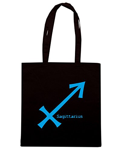 T-Shirtshock - Borsa Shopping T0219 SAGITTARIUS religioni celtic Nero