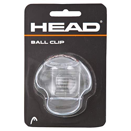 HEAD Damen Ballklammer, Clear/pink, One Size